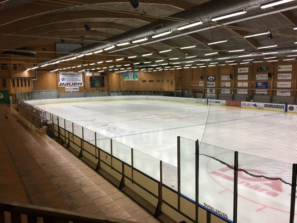 Allhallen med is