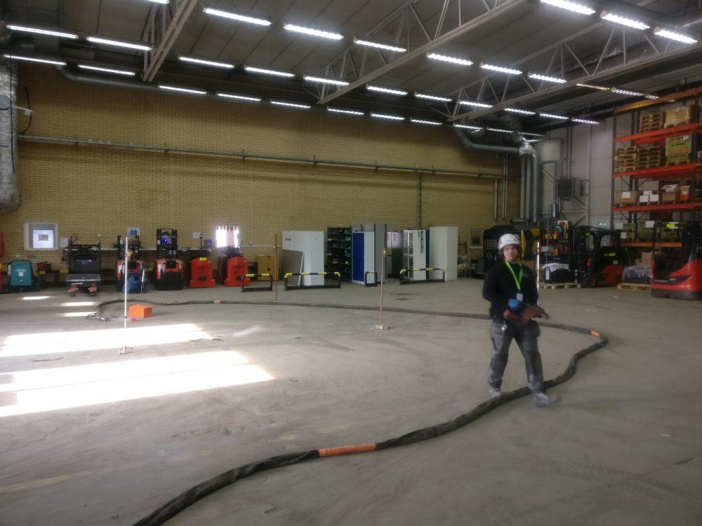 Scania Grundstabilisering Geobear