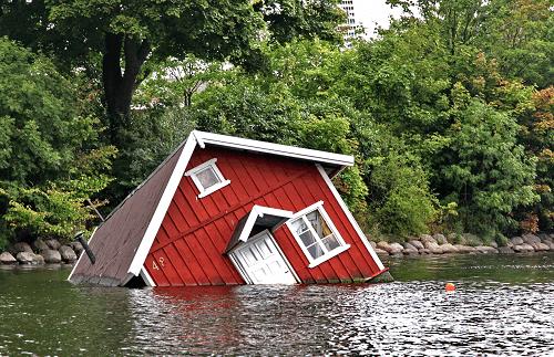 Översvämningsskada på byggnader och byggnadsmiljöer