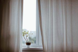 Bild på fönster som inte går att öppna