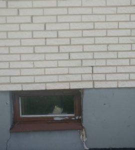 Laga sprickor i husgrund