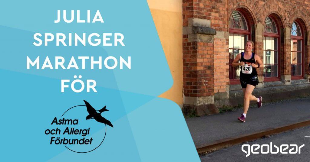 Julia Marathon Geobear
