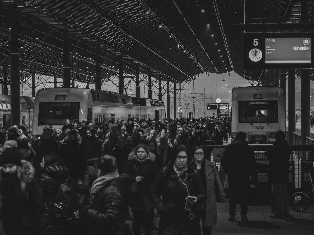Järnväg trafik