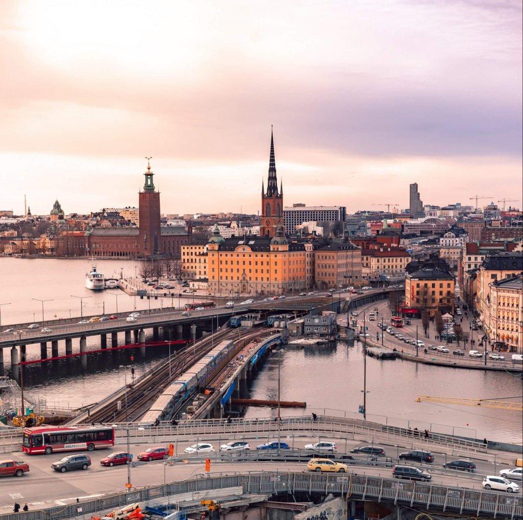 Stockholm Slussen trafik